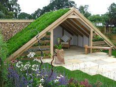 oh, du kannst nicht einen für mich im Garten bauen? das sieht so toll aus :-)