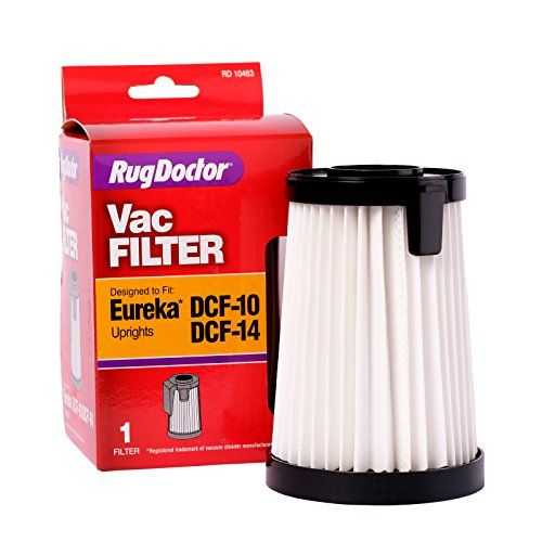 Eureka DCF 10/14 Filter By Rug Doctor, One Replacement Vacuum Cleaner  Filter That
