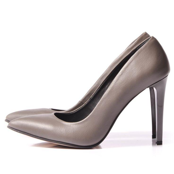 GREY Stiletto shoes - romanian designers SHOP ONLINE