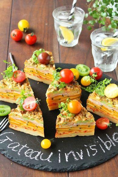 「甘くない野菜のガトーインビジブル」ぱお | お菓子・パンのレシピや作り方【corecle*コレクル】