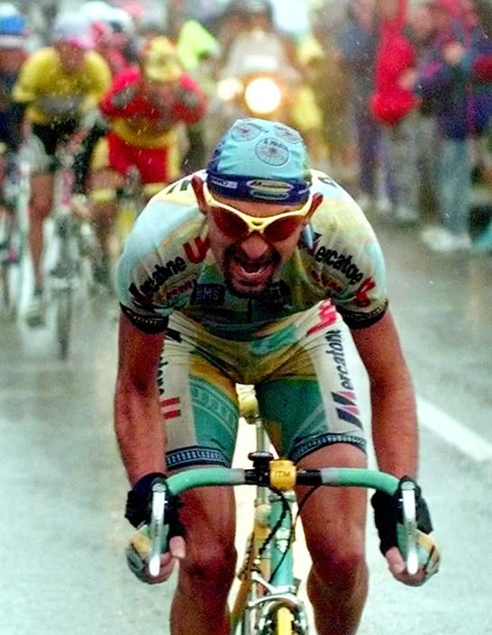 Marco Pantani @ Les Deux Alpes 1998 (ciao Marco)