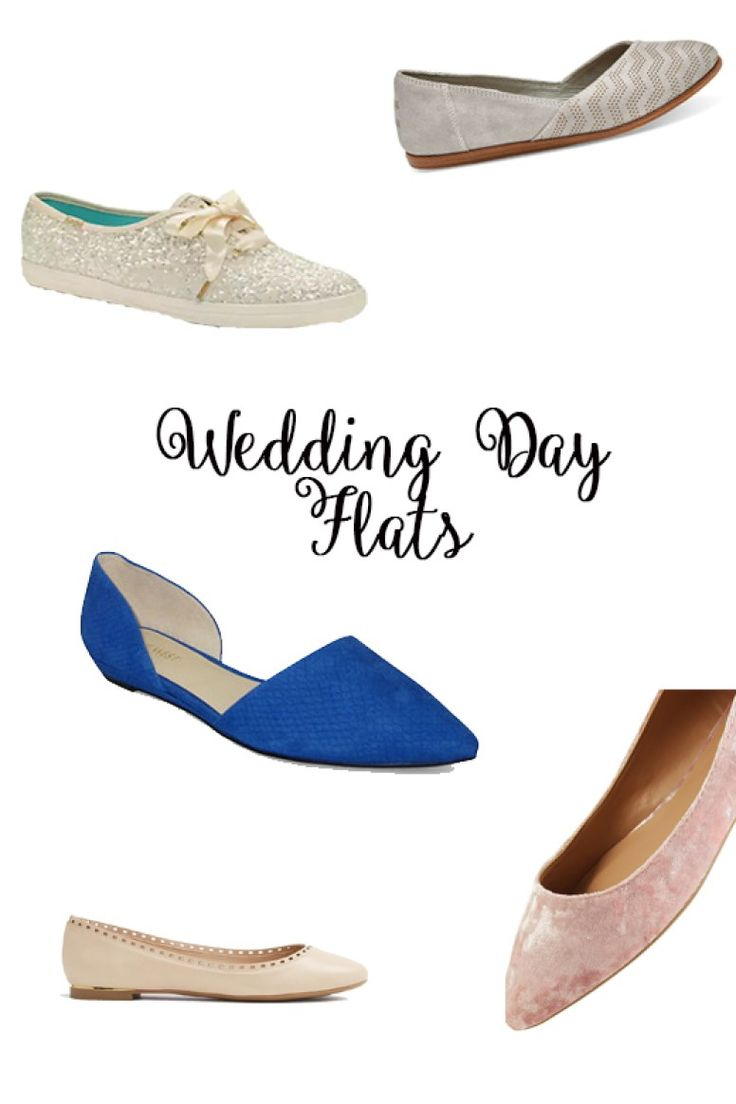 Shoes are one of our favorite wedding day accessories but finding the right shoe for you big day can be difficult. There are so many choices! Do you choose heels, wedges or flats?