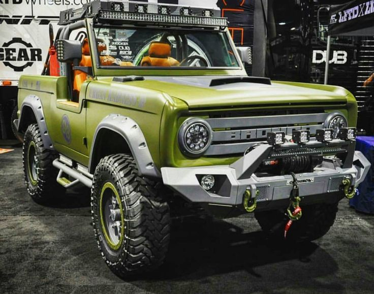 603 best Ford Bronco images on Pinterest