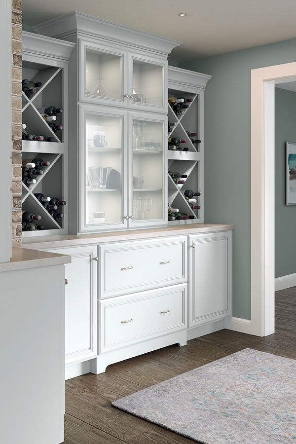Blue Cabinetry Is Having A Moment From The Palest Of Blues To Rich Navy Blue Cabinets Make A Statemen With Images Cabinet Colors Light Gray Cabinets Cabinet Door Styles