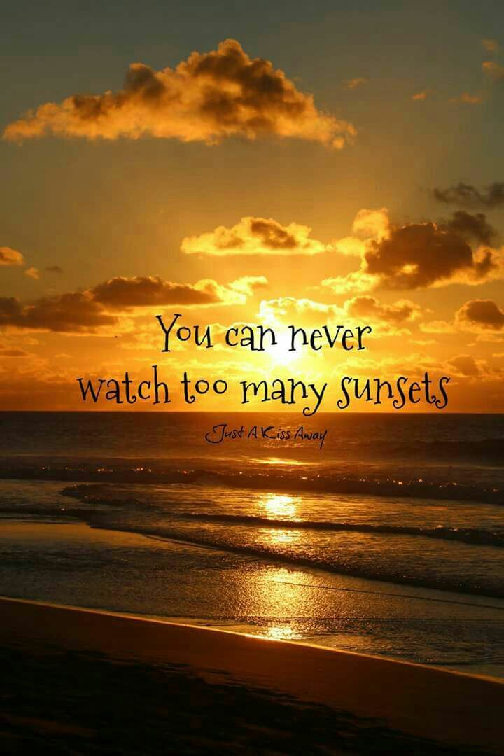 Sunset Good Night Quotes