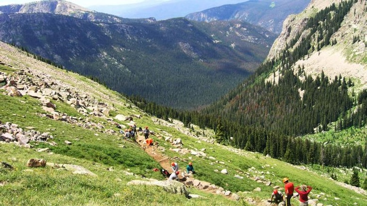 Volunteer Tourism in Colorado - helping repair hiking trails, etc. in this beautiful state. Awesome!