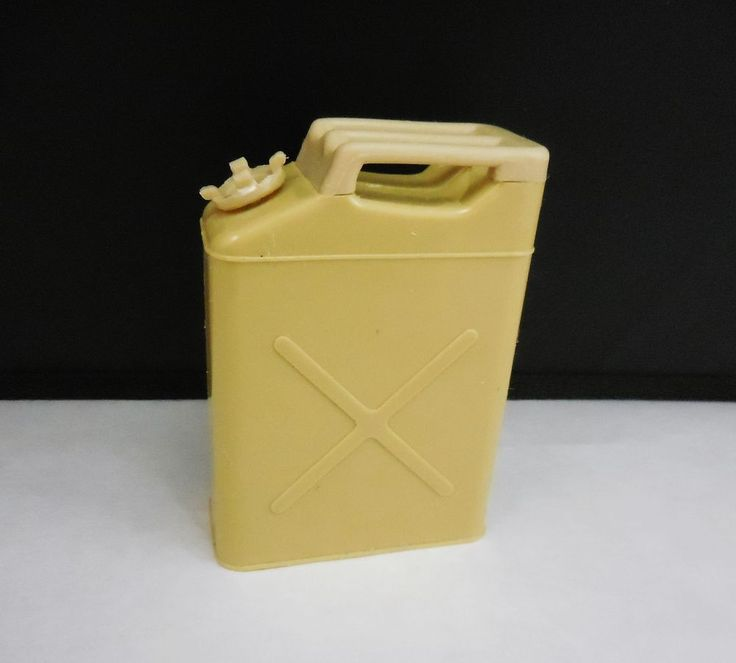 """Toy Fuel Gas Jerry Can for 12"""" GI Joe Action Figure, 1/6 scale Hasbro 2000 #Hasbro"""