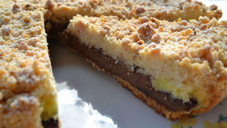 Come preparare Torta sbrisolona alla Nutella col Bimby della Vorwerk, impara a preparare deliziosi piatti con le nostre ricette bimby