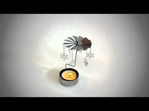 Cadou - suport lumanare - candela carusel - fungift.ro