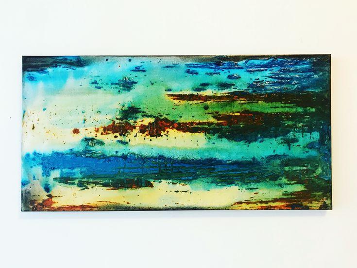 STILL  Blue/ Green/ Rust/ Yellow/ Graphite #art