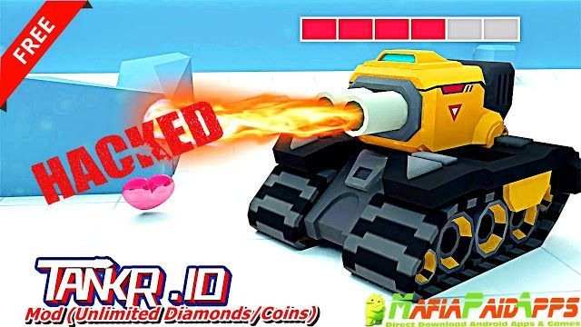 Tankr.io Apk  Mod (Unlimited Diamonds/Coins) for Android    Tankr.io Apk  Tankr.io is an Action Games for Android  Download last version of Tankr.io Apk  Mod (Unlimited Diamonds/Coins) for android from MafiaPaidApps with direct link  Tested By MafiaPidApps  without adverts & license problem  without Lucky patcher & google play the mod   Join the real-time tank battle now!  Tankr.io is an all new tank shooting and surviving game. The goal of this game is to defeat all of your competitors on…