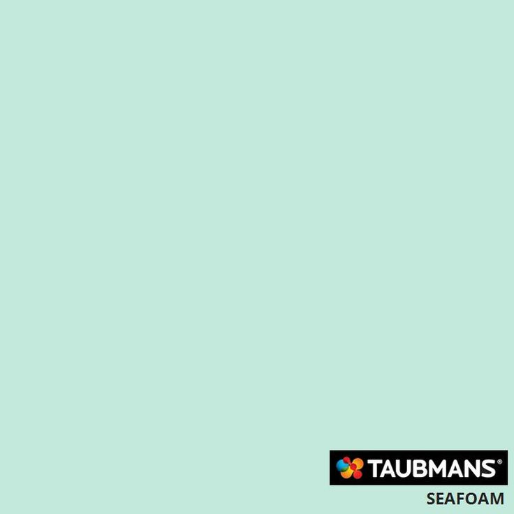 #Taubmanscolour #seafoam