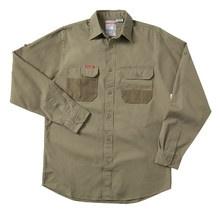 Hard Yakka Legends Cotton Duck Weave Shirt Long Sleeve