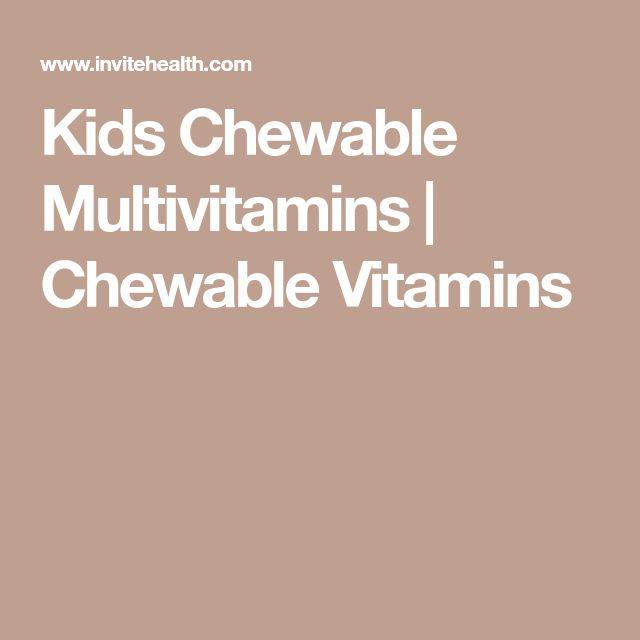 Kids Chewable Multivitamins | Chewable Vitamins