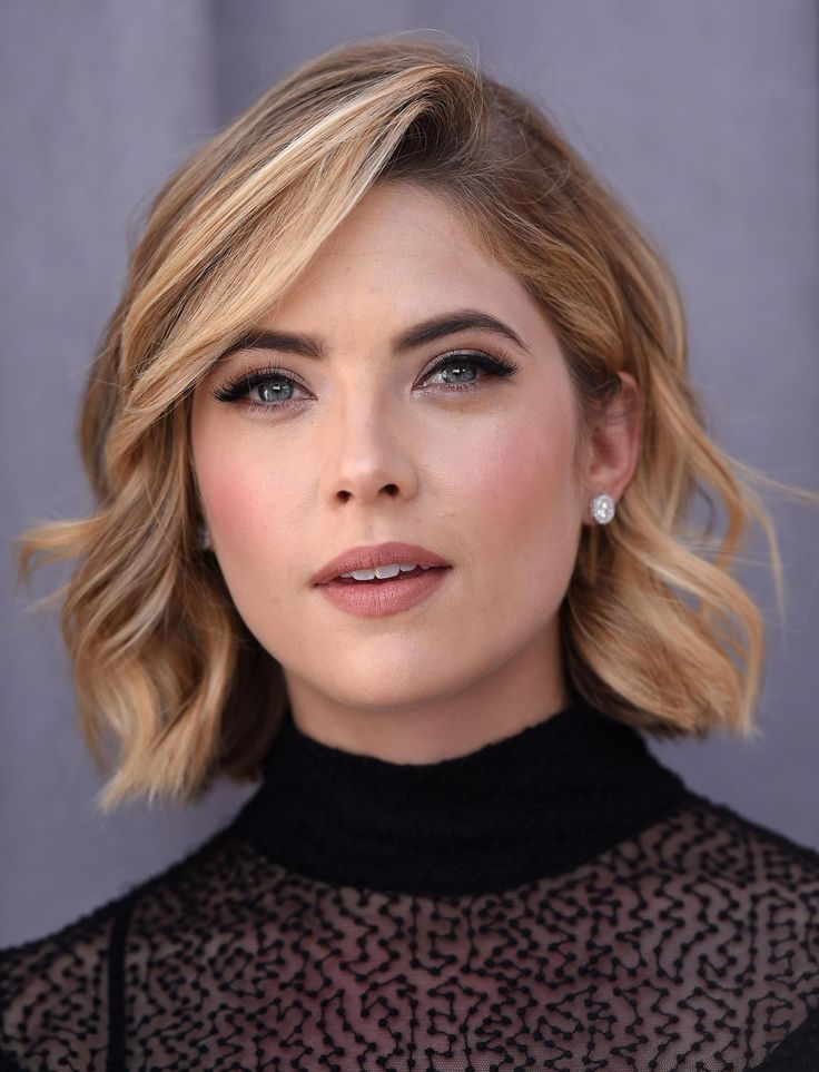For a modern curl, don't use the clamp. Want cool-girl straight ends like Ashley Benson? Wrap your hair around the wand and leave an inch or so out at the ends. If you're new to the technique, use a glove so you don't burn your fingers.
