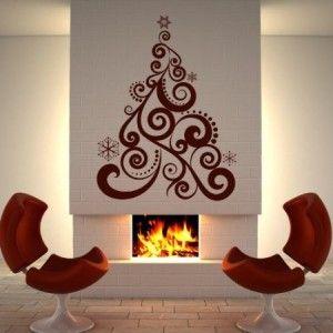 Disegni a parete sono l'ultima tendenza nella decorazione d'interni e d'arredamento casa. E' un modo semplice e creativo per aggiungere fascino e personalità a qualsiasi stanza! Art Sticker Albero di Natale è un'idea regalo personalizzabile nei colori, un tocco d'arte che arricchirà le vostre pareti.