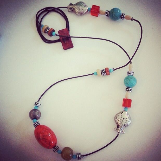 Necklace/collar #kittybri www.facebook.com/kittybritaller  #artesania #craft