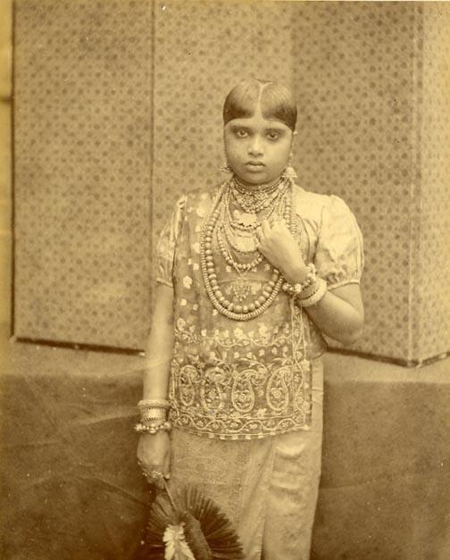 Kandyan Woman Old Ceylon