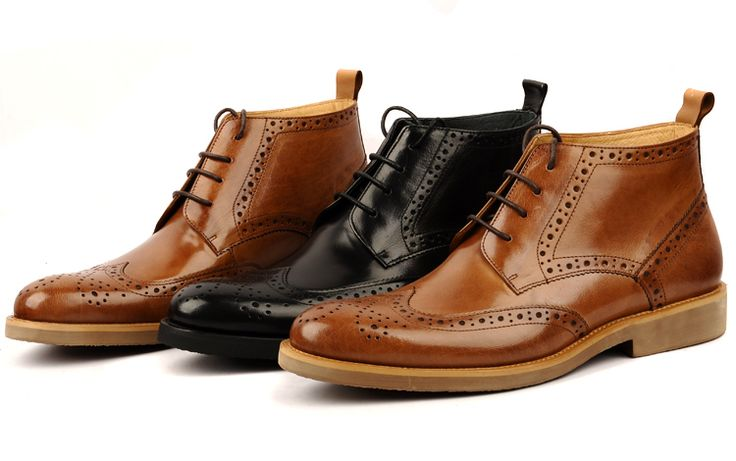 Brown Man Boots Promotion-Shop for Promotional Brown Man Boots on ...