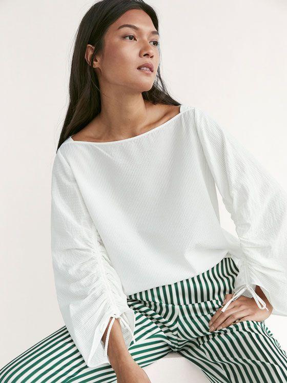 View all - Shirts & Blouses - WOMEN - Massimo Dutti - United Arab Emirates