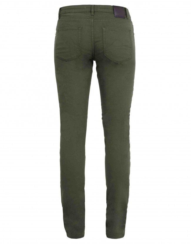 Zoe jeans - olijfgroen