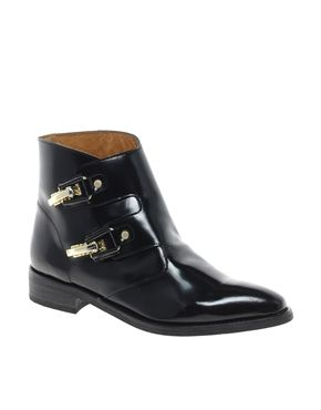 Image 1 of Miista Pandora Black Buckle Boots