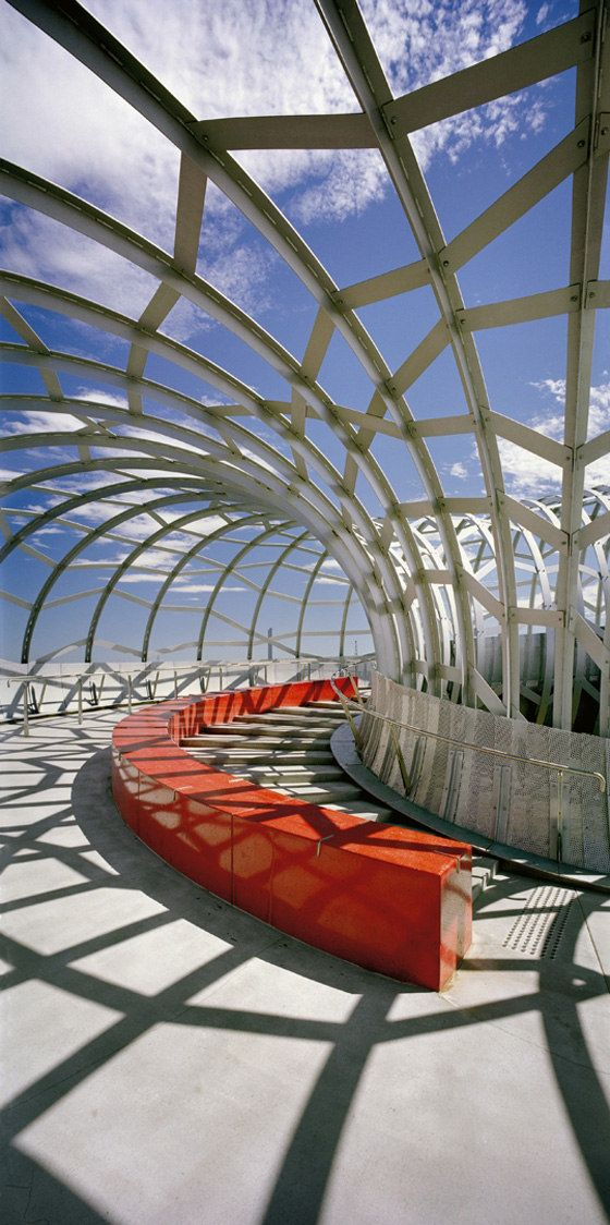 Webb Bridge at Docklands, Melbourne, Australia by Denton Corker Marshall Architects :: footbridge