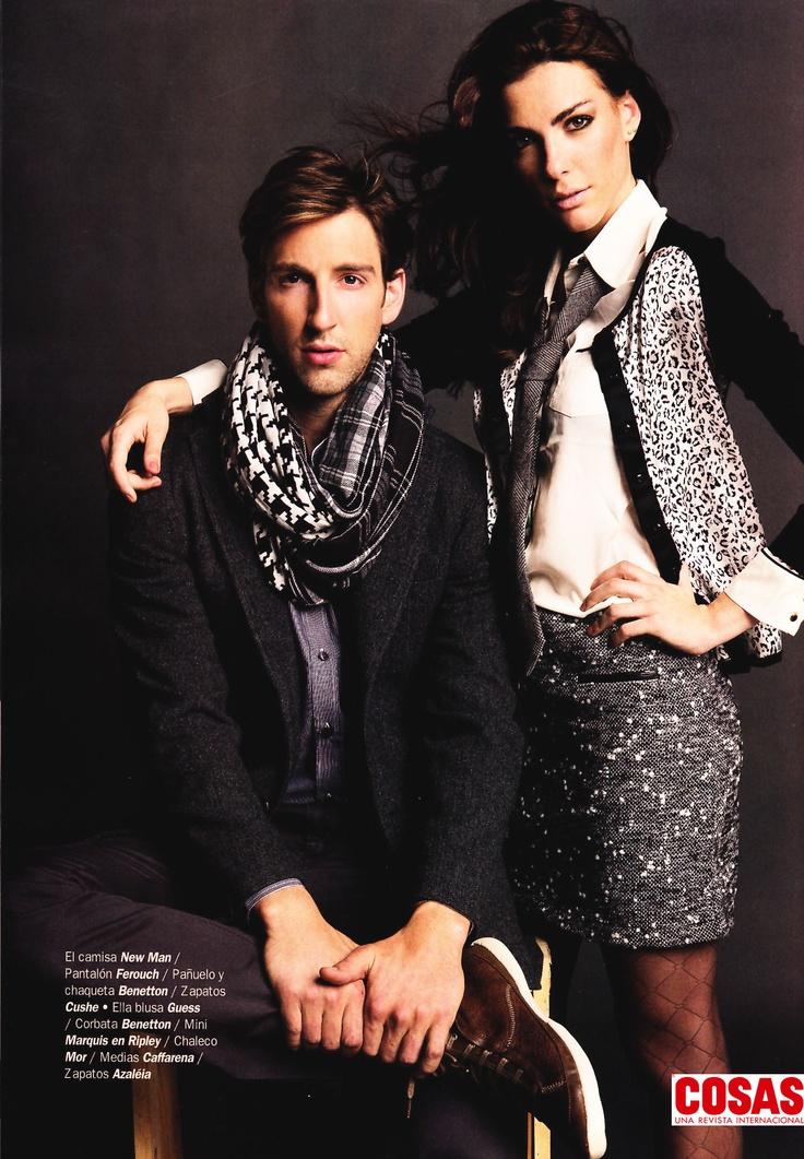 Chaleco Animal Print #41631, Revista Cosas Especial Moda, Abril 2013