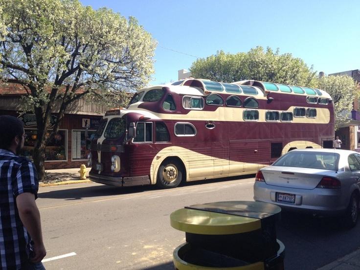 Triple Decker Tour Bus Anyone Know The Make Model