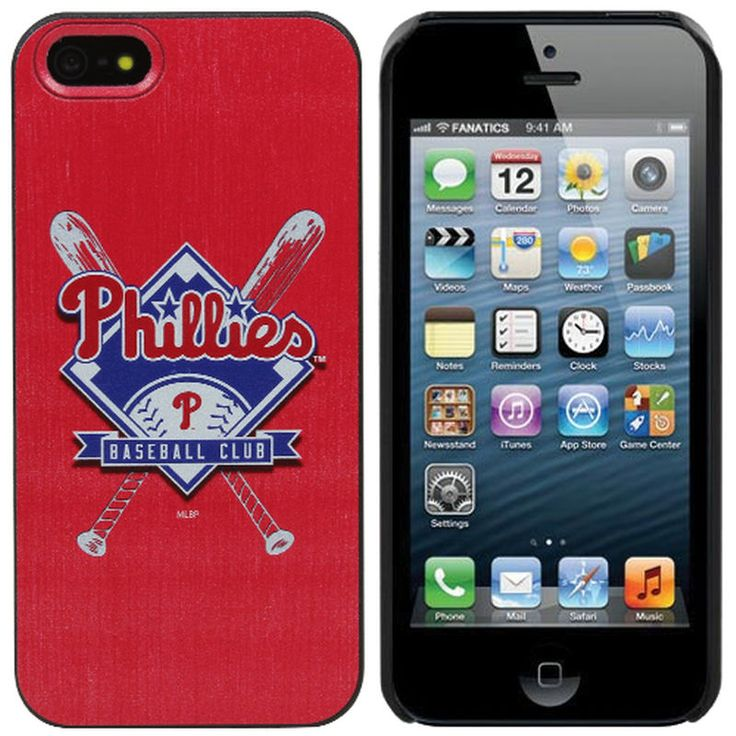 Philadelphia Phillies Bats iPhone 5 Snap-On Case - Red
