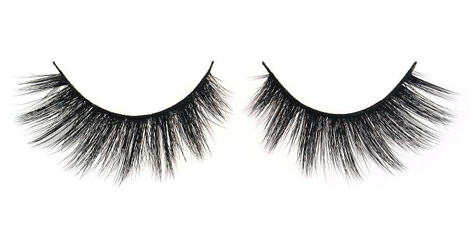 GLAM $30 FEMME FATALE 3D Angel Silk Strip Lashes Made of synthetic mellow fibres that mimic the texture of real mink fur. The thin and tapered fibres are placed in 2 layers on the soft lash band, giving the lash an emphasized fluffiness and feminine effect. Reusable up to 30 times 100% animal cruelty free Hand crafted Top quality