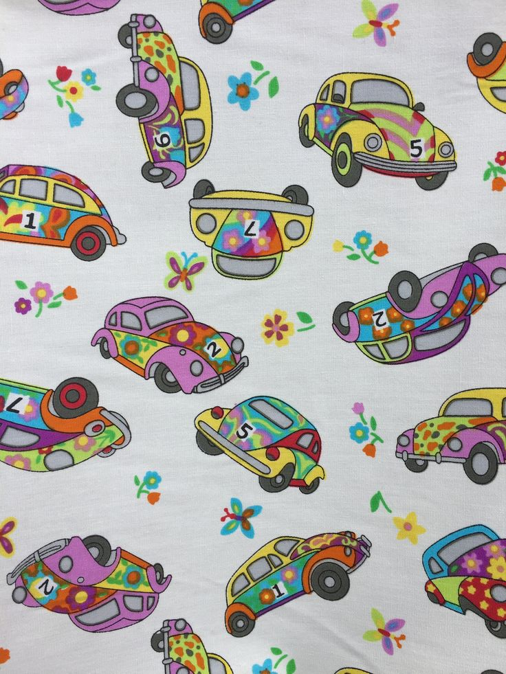 Car Cotton Fabric - 100% Cotton - Ivory Fabric - Retro Car Fabric - Beetle Car Material - Craft Material - Priced per Metre by FabricsCraftsUK on Etsy