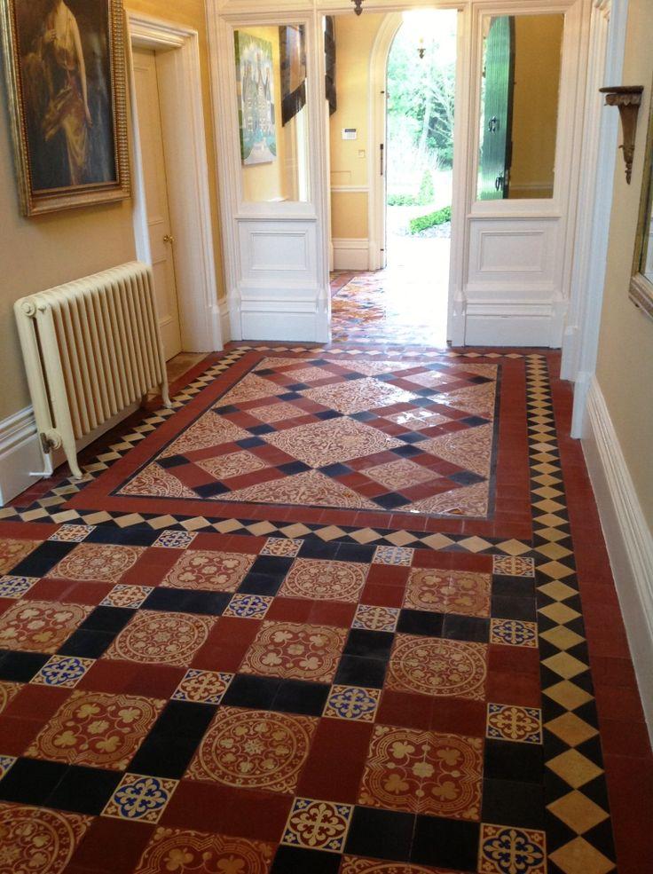 26 Best Victorian Tiled Floor Halls Images On Pinterest Floors