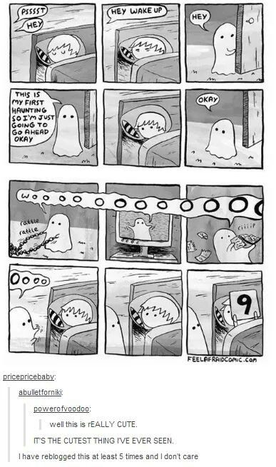 The really cute ghost - forever repin.