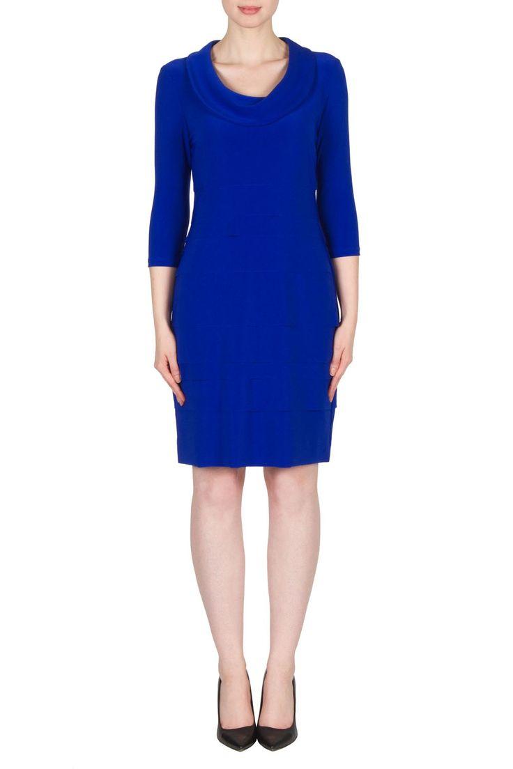 Joseph Ribkoff Royal Sapphire Dress Style 173023X