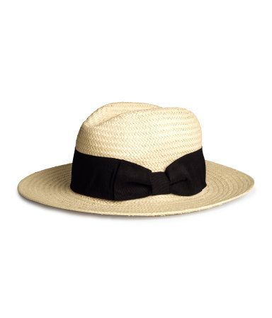 H&M straw panama hat - perfect for summer!
