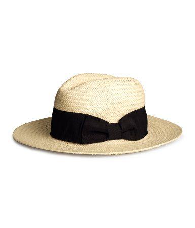 Straw hat. June 2014.
