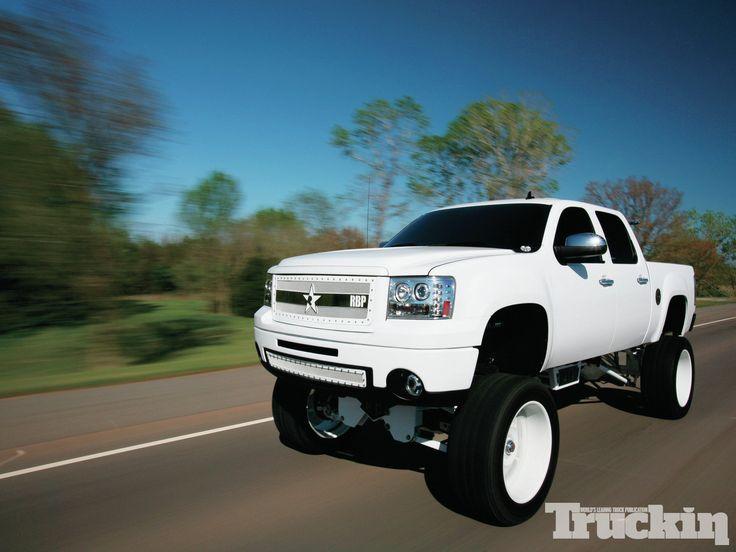 Gmc Sierra Trucks For Sale >> white wheels on white truck - Google Search | Lifted ...