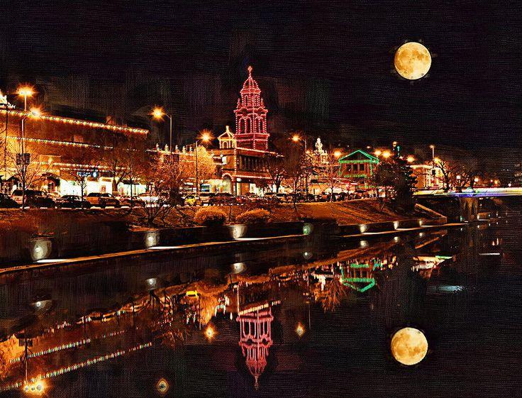 Christmas Lights Kc Kansas City Missouri Digital Art