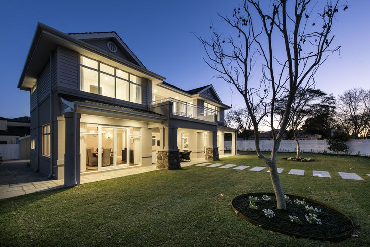 Hampton's inspired display home
