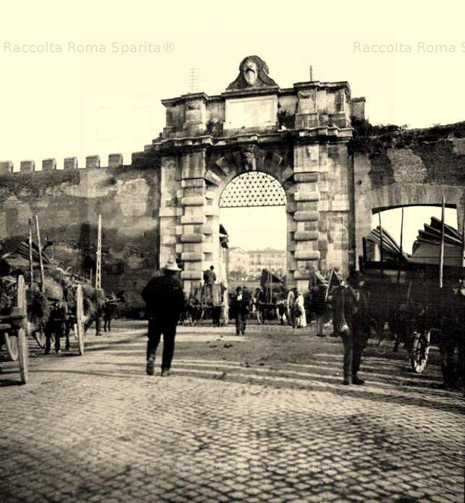 Piazzale Appio – Porta San Giovanni Anno: 1900 ca