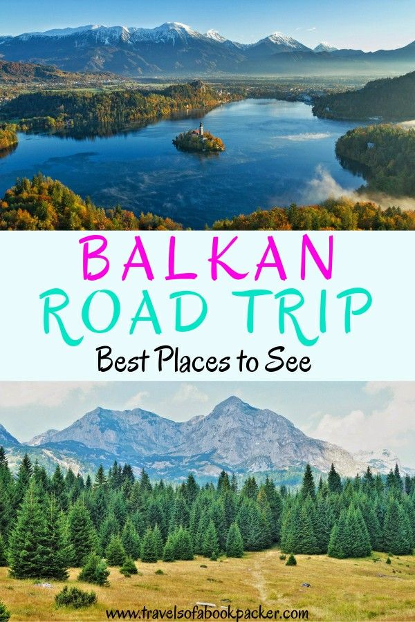 Looking for the best places to stop on your Balkan road trip? We've got you covered! Here are some ideas to help you sort your route through the Balkans without missing anything! Read more for detailed information. Best places to see in the Balkans // Balkan road trip // Eastern Europe road trip // Balkans road trip itinerary // Road trip through the Balkans #balkans #roadtrip #balkanroadtrip #easteurope #easterneurope #slovenia #bosnia #serbia #kosovo
