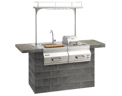 Fire Magic Apollo Built In Beverage Center With Lighted Top, Big Ridge Outdoor  Kitchens LLC
