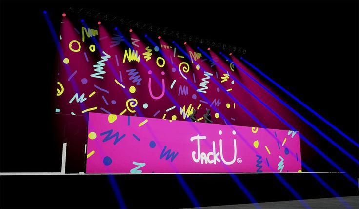 Jack U Visuals