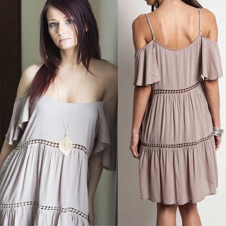 Petal Wagon Boutique - Three Tier Peasant Dress -$34 at www.petalwagon.com. Perfect Country Concert Dress!