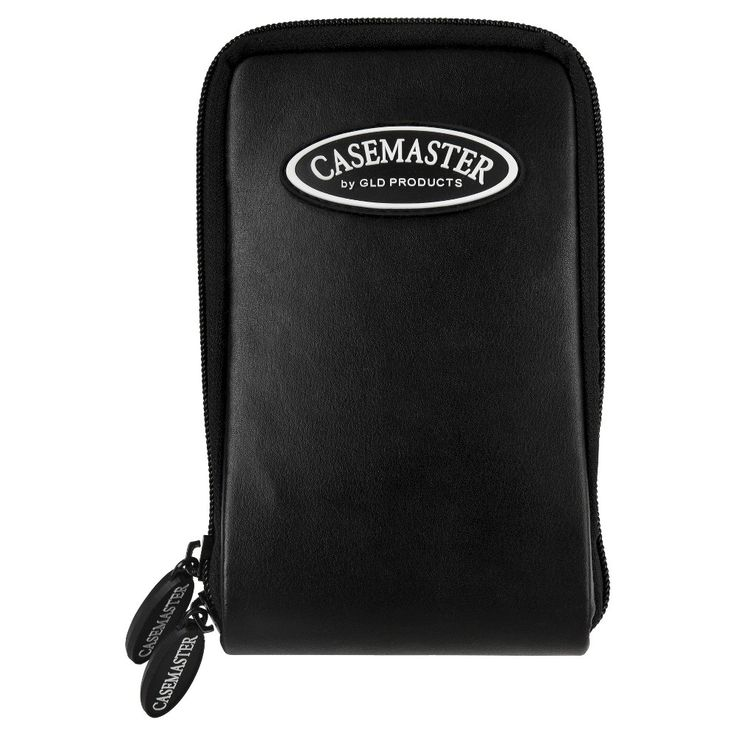 Casemaster Mini Pro Black Leather Dart Case,