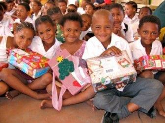 the amazing little ones of Cape Town. Santa Shoebox Project http://santashoebox.co.za/