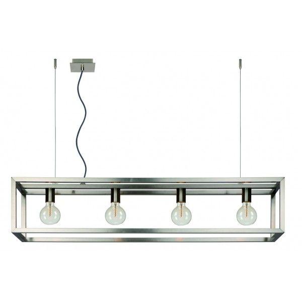 Oris D120 cm - Lucide - kolor srebrny
