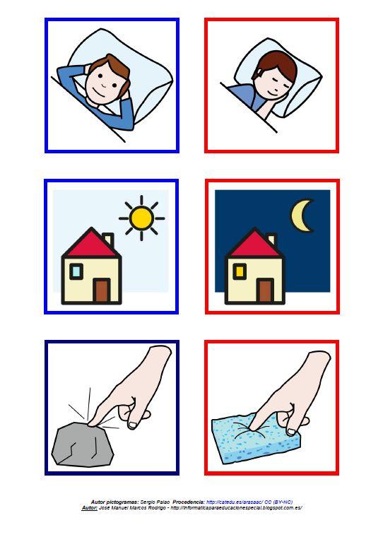 Registro y valoración cualitativa - Antónimos. Lámina 8 http://informaticaparaeducacionespecial.blogspot.com.es/2014/09/registro-y-material-complementario-para.html