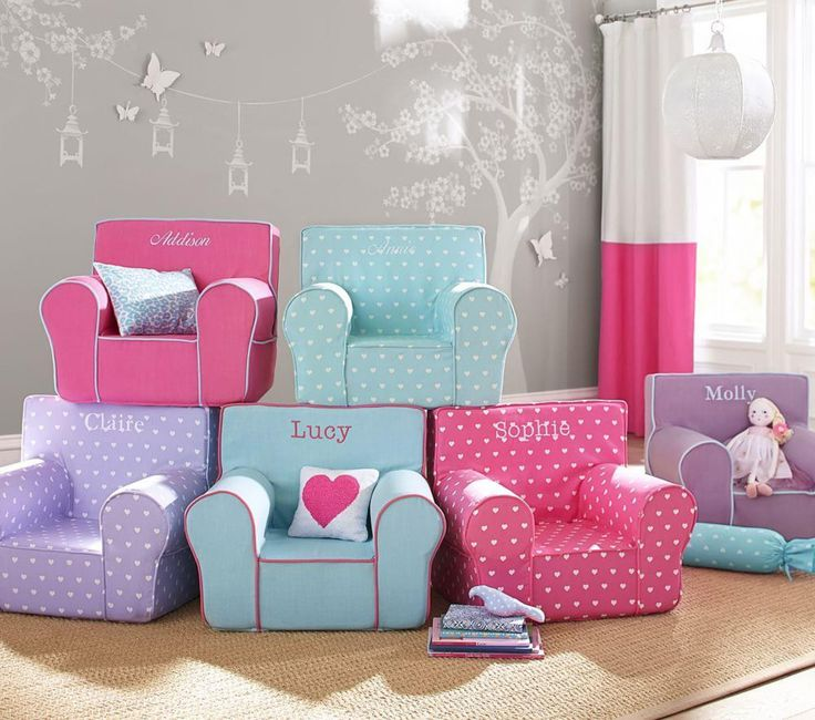 Lavender Heart Anywhere Chair